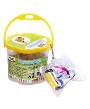 Тесто для лепки Color Puppy 18 цветов, 315г, формочки, инструменты в желтом кейсе 63780 дифманометр тесто 315 купить в днепропетровске
