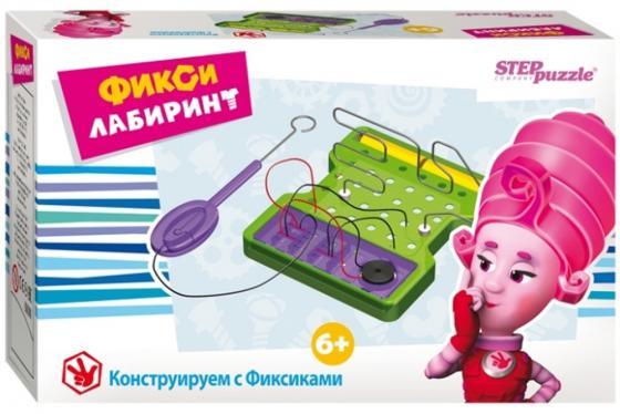 Настольная игра логическая Step Puzzle Фикси - Лабиринт 76157 настольная игра step puzzle за грибами