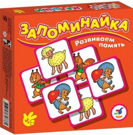 Настольная игра развивающая ДРОФА Запоминайка. Малыши 1702 настольная игра развивающая дрофа обучающая игра запоминайка машинки 1700