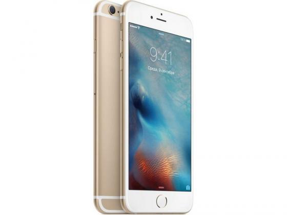 Смартфон Apple iPhone 6S Plus золотистый 5.5 128 Гб NFC LTE Wi-Fi GPS 3G MKUF2RU/A