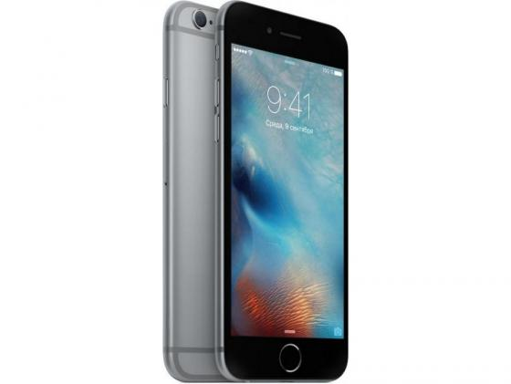 Смартфон Apple iPhone 6S Plus серый 4.7 128 Гб LTE NFC Wi-Fi GPS 3G 4G MKQT2RU/A смартфон apple iphone xr жёлтый 6 1 256 гб nfc lte wi fi gps 3g mryn2ru a