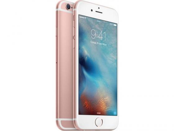 Смартфон Apple iPhone 6S розовое золото 4.7 128 Гб NFC LTE Wi-Fi GPS 3G MKQW2RU/A смартфон asus zenfone live zb501kl золотистый 5 32 гб lte wi fi gps 3g 90ak0072 m00140