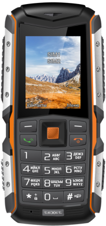 Мобильный телефон Texet TM-513R черный оранжевый 2 мобильный телефон soyes h1 2015
