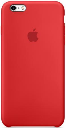 Чехол (клип-кейс) Apple Silicone Case для iPhone 6S красный MKY32ZM/A чехол аккумулятор apple smart battery case для iphone 7 красный mn022zm a