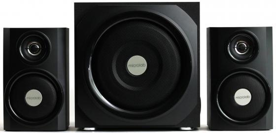 Колонки Microlab TMN-9U 2х12 + 16 Вт черный колонки microlab m300 2х4 8 вт черный