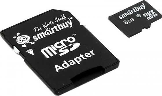 Фото - Карта памяти Micro SDHC 8GB Class 10 SmartBuy SB8GBSDCL10-01 карта памяти micro sdhc 8gb class 10 kingston sdcit 8gbsp