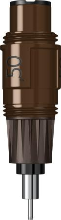 Пишущий элемент для изографа Rotring S0218460 0.50 мм rotring rapid pro metal mechanical pencil