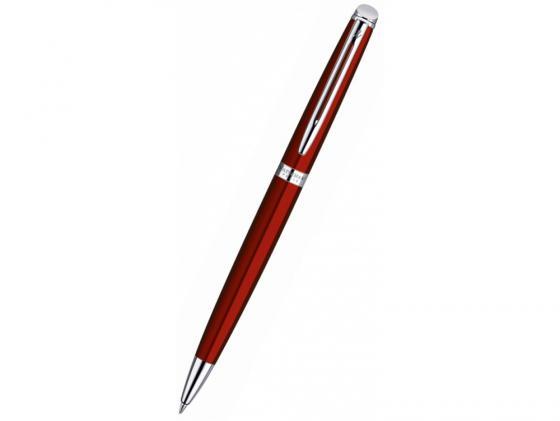 Шариковая ручка Waterman Hemisphere чернила синие корпус красный 1869011