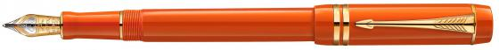 Перьевая ручка Parker Duofold F74 International Historical Colors Big Red GT F 1907190 наклейки tony 2 74 alfa romeo mito 147 156 159 166 giulietta gt