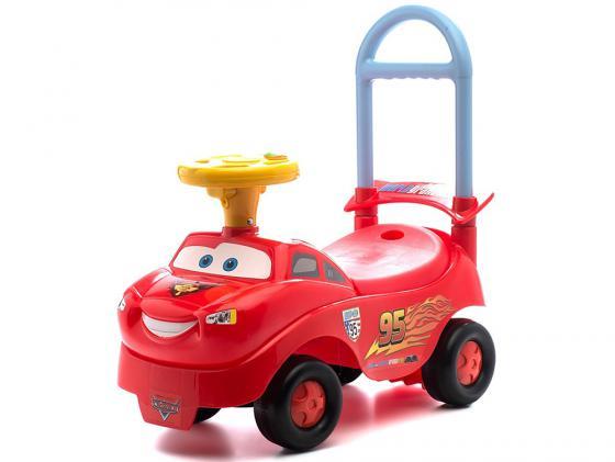 Каталка-машинка Kiddieland Тачки пластик от 1 года с гудком красный 048645