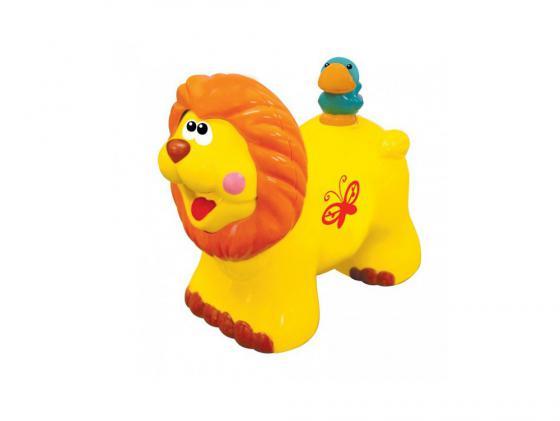 Интерактивная игрушка Kiddieland Львенок до 1 года жёлтый KID 051706 цена