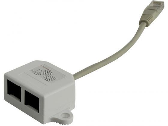 Разветвитель 5bites LY-SB026 RJ45 T568A/T568B - 2xRJ45 10/100BASE-T LY-SB26B-A