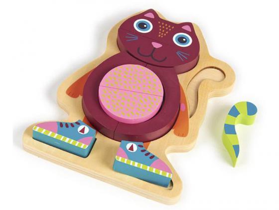Пазл 9 элементов Oops Кошка O 16002.21 подвесные игрушки oops музыкальная кошка