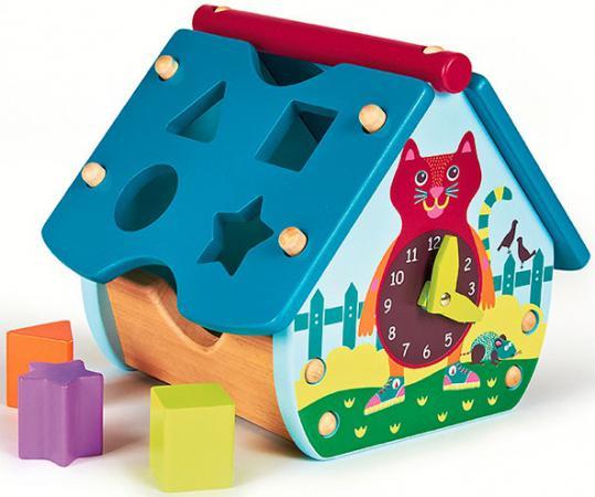Домик-сортер Oops Город O 16003.20 подвесные игрушки oops музыкальная кошка
