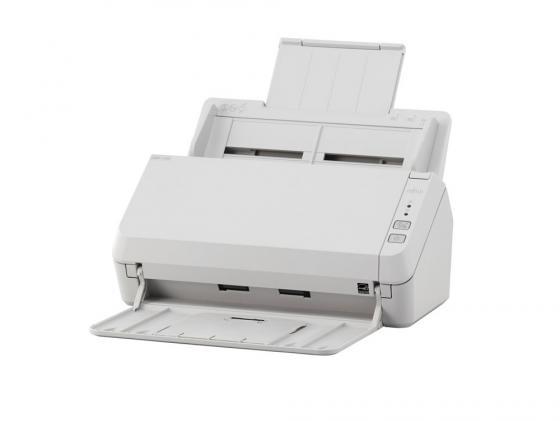 Сканер Fujitsu ScanPartner SP-1125 протяжный А4 600x600 dpi CIS 25ppm USB белый PA03708-B011