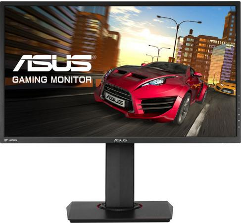 Монитор 27 ASUS MG278Q черный TFT-TN 2560x1440 350 cd/m^2 1 ms DVI HDMI DisplayPort Аудио USB 90LM01S0-B01170 asus asus vp228h 21 5 черный dvi hdmi full hd