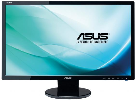 Монитор 24 ASUS VE248HR черный TFT-TN 1920x1080 250 cd/m^2 1 ms DVI HDMI VGA Аудио монитор 21 5 asus ve228tlb черный tft tn 1920x1080 250 cd m^2 5 ms dvi vga аудио usb