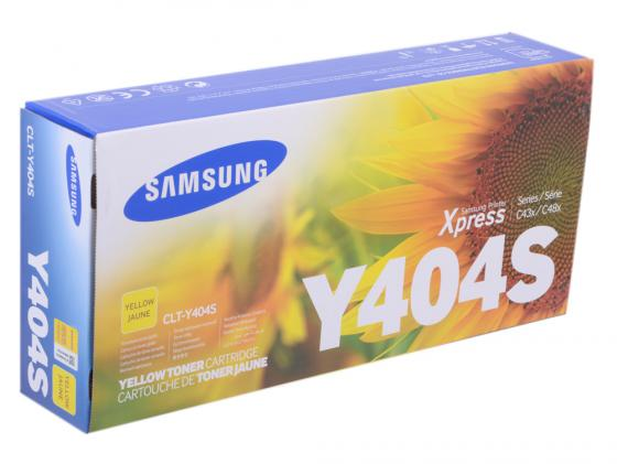 Картридж Samsung CLT-Y404S для SL-M430/SL-M480 желтый кобура кобура gletcher поясная для clt 1911