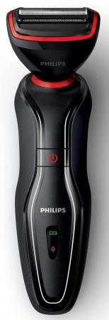 Бритва Philips S728/17 чёрный бритва philips s1520 04 чёрный