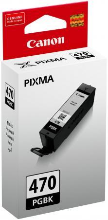 Картридж Canon PGI-470 PGBK для MG5740 MG6840 MG7740 черный 300стр 0375C001 чернильный картридж canon pgi 29pm