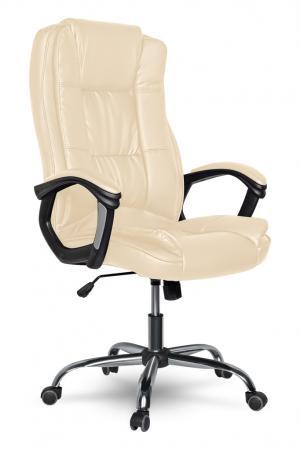 Кресло руководителя College XH-2222 / CLG-616LXH Beige кожа бежевый цена и фото