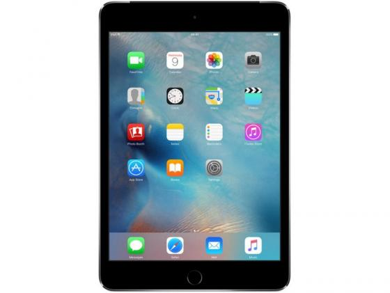 Планшет Apple iPad mini 4 128Gb Cellular 7.9 Retina 2048x1536 A8 GPS IOS Space Gray серый MK762RU/A apple ipad mini with retina display wi fi cellular 32gb space gray