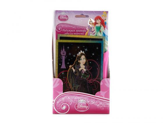 Набор для творчества Multi Art Набор для творчества Гравюра Disney ПРИНЦЕССЫ SCP-PRHB100 от 5 лет для девочки SCP-PRHB100 подарочный набор для творчества disney принцессы 46 предметов