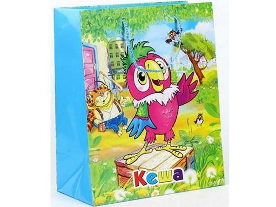 Пакет подарочный Весёлый Праздник Кеша 33x46х20 см CLRBG-KSH-03 пакет подарочный весёлый праздник мама для мамонтёнка 33x46х20 см clrbg em 03