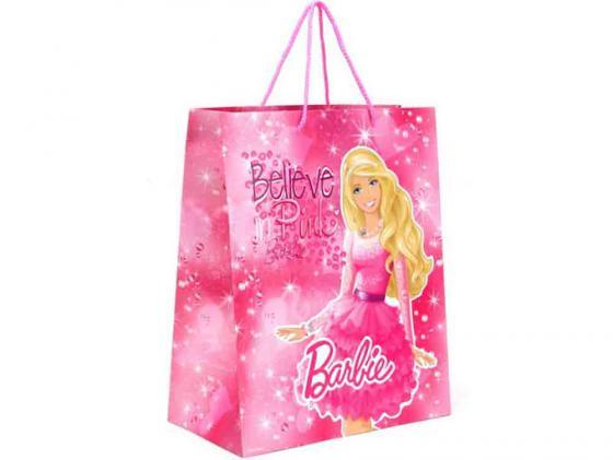 Пакет подарочный Весёлый Праздник Barbie 33x46х20 см CLRBG-BRB-03 пакет подарочный весёлый праздник мама для мамонтёнка 33x46х20 см clrbg em 03