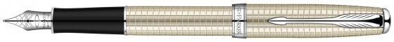 Перьевая ручка Parker Sonnet F535 Sterling Silver CT F S0912490 lekani svr009 925 sterling silver ring silver