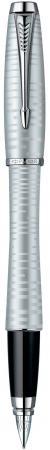 Перьевая ручка Parker Urban Premium Vacumatic F206 0.8 мм 1906868 перьевая ручка parker urban premium vacumatic f206 silver blue pearl перо f 1906868