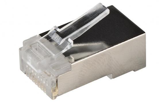 Разъем ITK RJ-45 FTP для кабеля кат.5Е 8P8C 20шт CS3-1C5EF_20pcs разъем 100