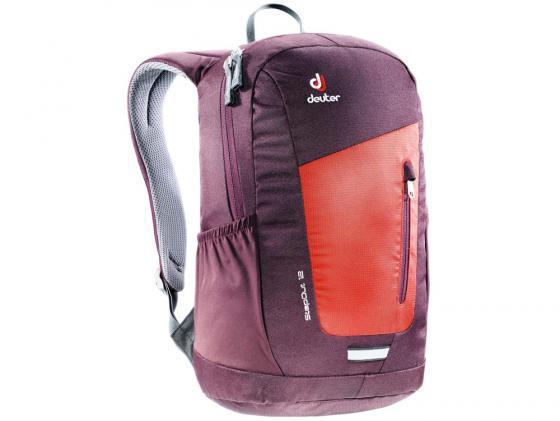 Городской рюкзак Deuter StepOut 12 12 л оранжевый бордовый 3810215-5513 deuter giga blackberry dresscode