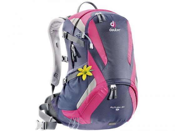 Городской рюкзак Deuter Futura 20 SL 20 л фиолетовый розовый 34194 -3503 цена