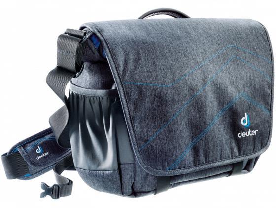 Сумка с отделением для ноутбука Deuter Operate I 11 л серый бирюзовый 85063-7314 сумка с отделением для ноутбука deuter pannier 14 л бирюзовый черный 85093 7321