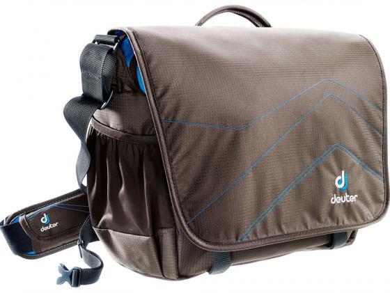 Сумка с отделением для ноутбука Deuter Operate II 14 л коричневый бирюзовый 85073-6306 городской рюкзак deuter giga с отделением для ноутбука голубой 28 л 80414 3027