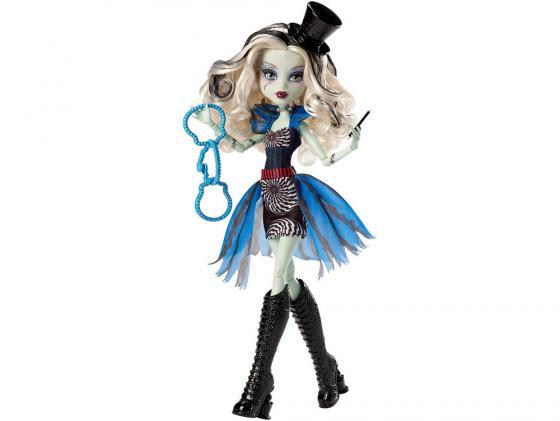 Кукла Monster High Шапито Frankie Stein 27 см 09109 куклы и одежда для кукол монстер хай monster high кукла frankie stein из серии шапито