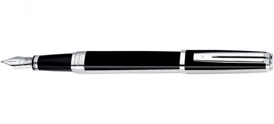 Перьевая ручка Waterman Exception Night & Day Platinum ST синий F перо F S0709140