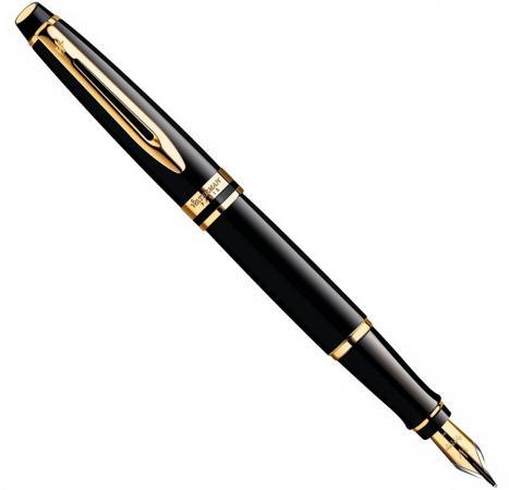 Перьевая ручка Waterman Expert 3 Black Laque GT синий F перо F S0951640 велосипед gt verb expert 2016