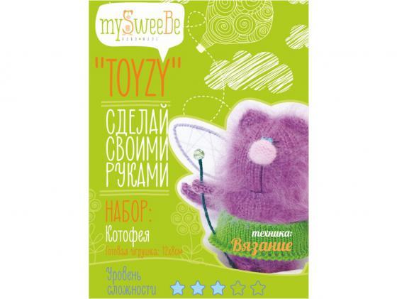 Набор для вязания Toyzy Котофея TZ-K003 набор для вязания toyzy кот грустик tz k001