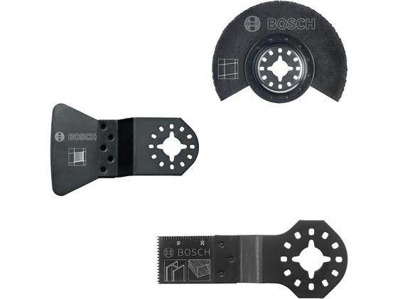 Набор оснастки для мультитулов Bosch 2608662342 нож bosch advancedrotak 760
