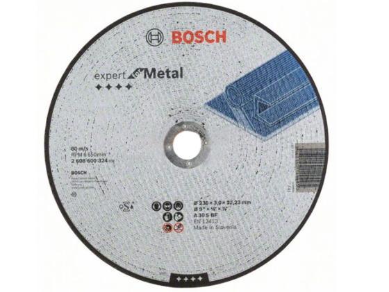 Отрезной круг Bosch 230х3мм 2608600324 круг отрезной bosch bosch 3 in 1 115x2 5x22 по нерж 2 608 602 388