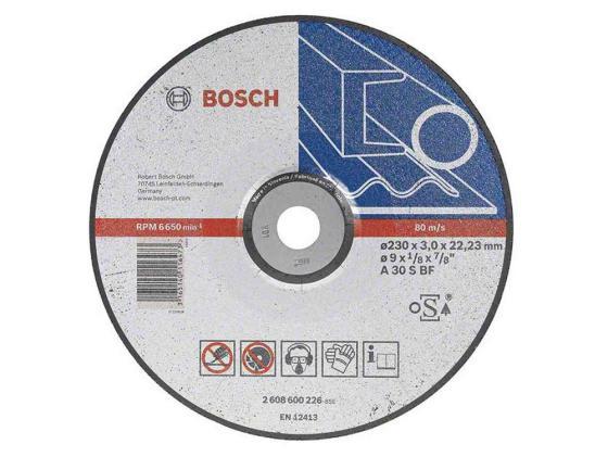 Отрезной круг Bosch 230х2.5ммх22.23мм 2608600225 отрезной круг bosch 230х2 5ммх22 23мм 2608600225