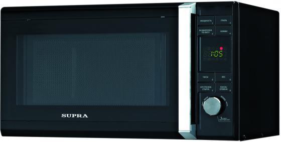 Микроволновая печь Supra MW-G2232TB 22 л чёрный микроволновая печь supra mw g2119ts