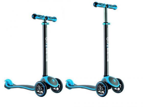 цена на Самокат трехколёсный Y-SCOO Globber My free Titanium neon голубой 4847 (401305)