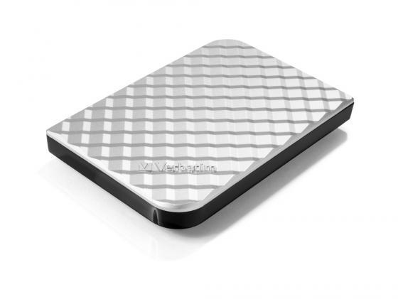 Внешний жесткий диск 2.5 USB3.0 1 Tb Verbatim Store n Go серебристый 53197 внешний жесткий диск store n go style 1тб 53194 черный