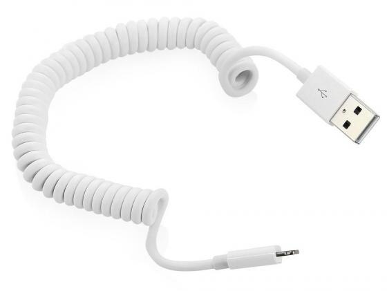Фото - Кабель Lightning 1.5м Deppa 72132 витой кабель