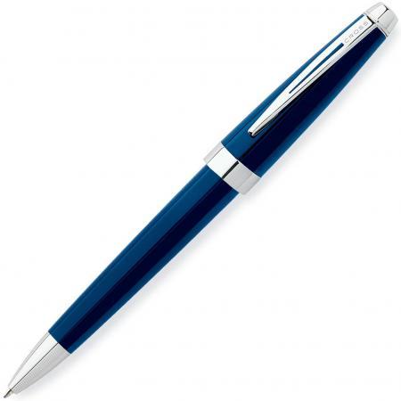 Шариковая ручка поворотная CROSS Aventura Blue черный M AT0152-2 роллер cross aventura черный fblack at0155 1