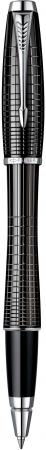 Ручка-роллер Parker Urban Premium T204 черный S0911490 ручка роллер parker t204 brown urban premium s0949220