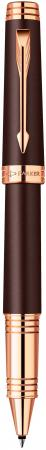 Ручка-роллер Parker Premier Soft T560 черный 1876396 ручка роллер parker premier soft t560 1876396 brown pgt m чернила черный ювелирная латунь